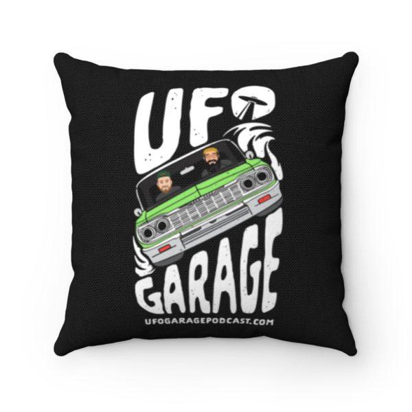 ufo garage podcast pillow